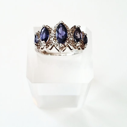 PurpleLicious Marquise Iolite - Size 8