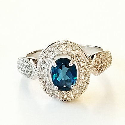 London Blue Topaz - Size 9