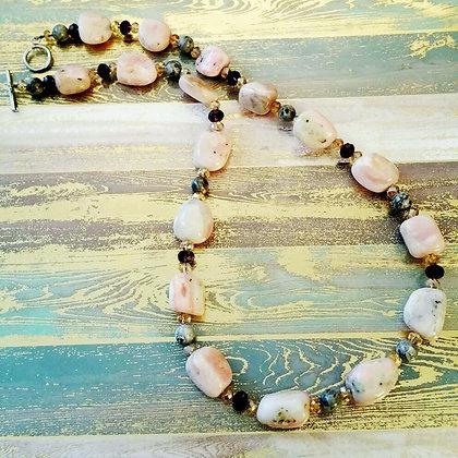 Boulder Opal Gemstone Necklace