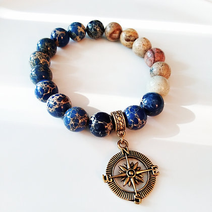 Sea Sediment Charm Bracelet