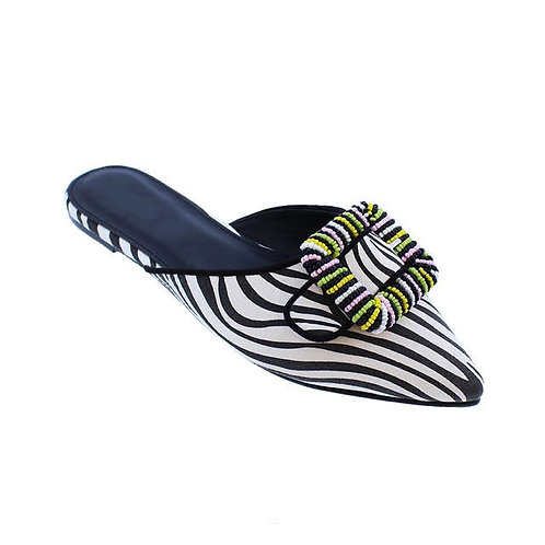 Menno Flat Slippers By DV8 Shoes