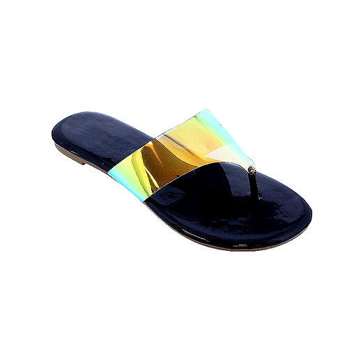 REY HOLOGRAM Sandals By DV8 Shoes