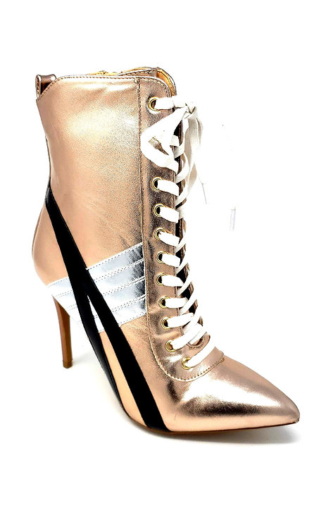 Akira Golden Boots by DV8 Shoes