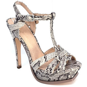 Suzi Snake High Heels By DV8 Shoes