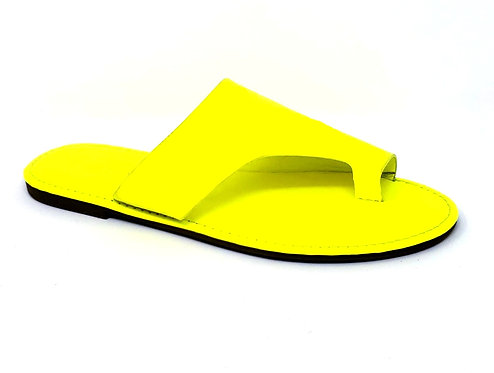 Yellow Shoreline Sandals By DV8 Shoes
