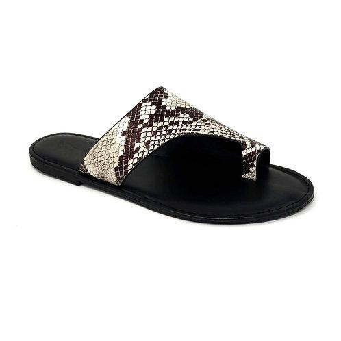 Snake Pattern Shoreline Sandals By DV8 Shoes