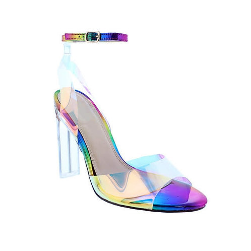 Rainbow High Heels By Dv8 Shoes
