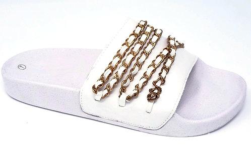 Golden Sandals By DV8 Shoes