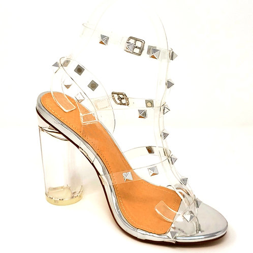 Gina Studded High Heels By DV8 Shoes