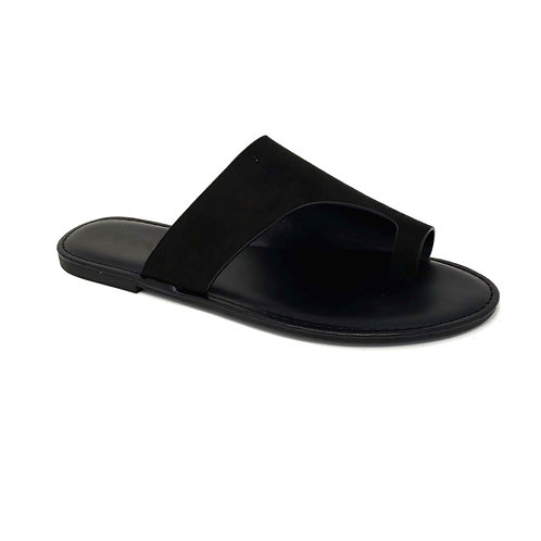 Black Shoreline Sandals By DV8 Shoes