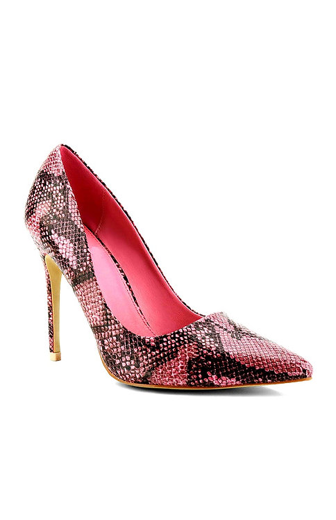 Pink Snake By DV8 Shoes
