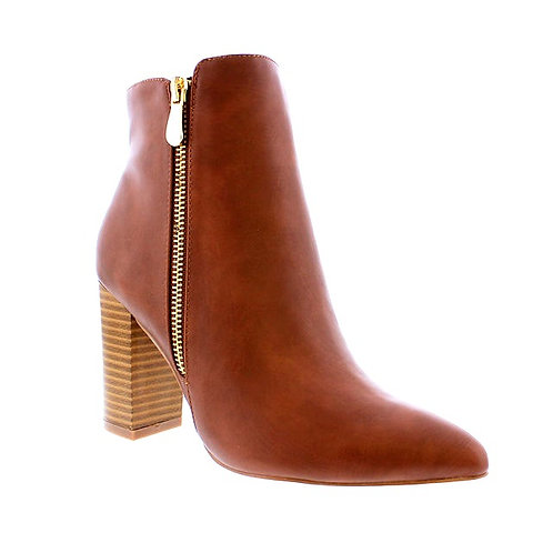 Brown Eithel Ankle Boots By DV8 Shoes