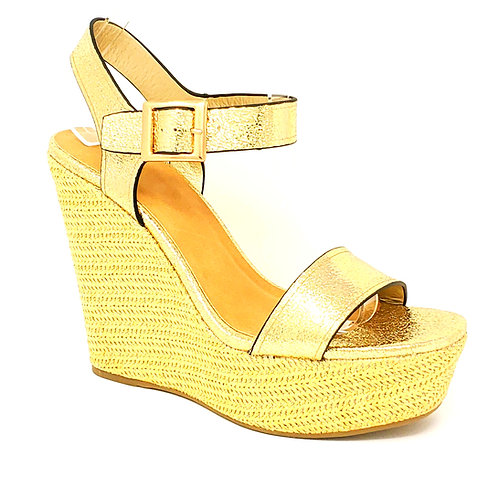 Golden Platform By DV8 Shoes