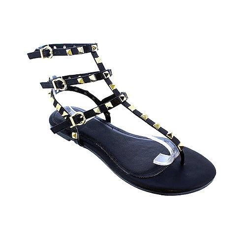 Black Nip Sandals By DV8 Shoes