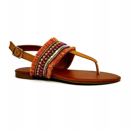 Golden Bohemian II Sandals By DV8 Shoes