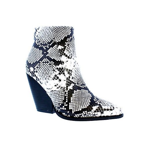 Snake Glaze Ankle Boots By DV8 Shoes