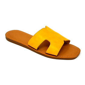 Yellow Hermi Sandals By DV8 Shoes