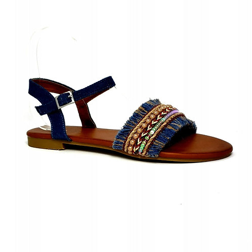 Denim Bohemian II Sandals By DV8 Shoes