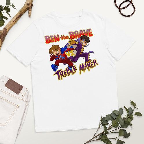 BTB vs Treble Maker Unisex organic cotton t-shirt