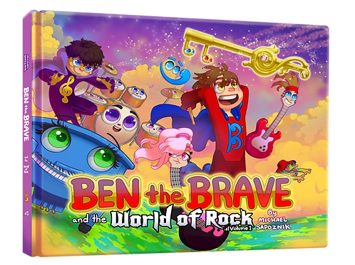 Ben the Brave & World of Rock - Volume 1 PDF
