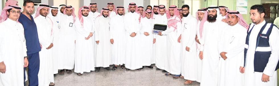 مبادرة تكريم الموظفين المتميزين بادارة الامداد بصحة جدة