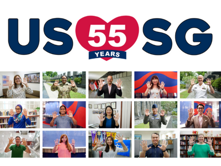 USSG55: Celebrating 55 Years of US-Singapore Diplomatic Relations in Photos