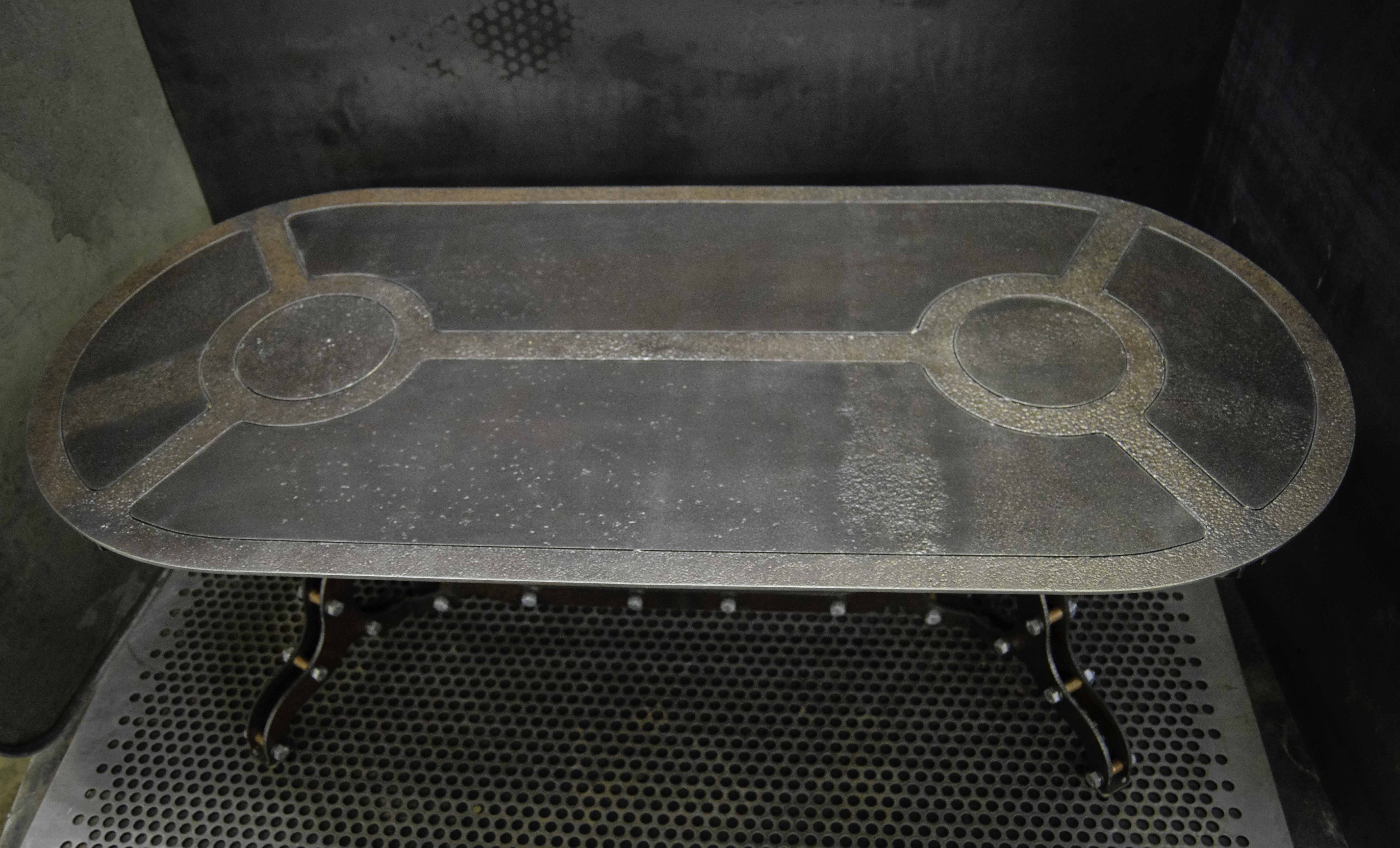 Rust Coffee Table