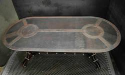 Rust Coffee Table
