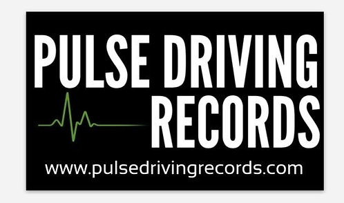 Pulse Driving Records Sticker