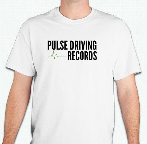 Pulse Driving Records White T-Shirt