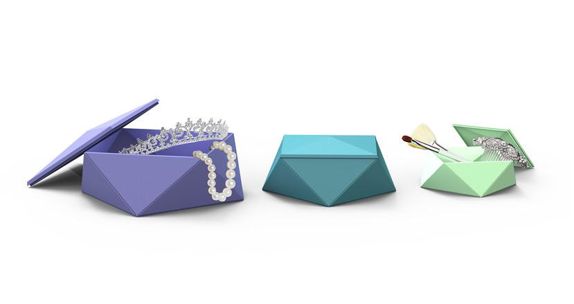 Origami Storage Boxes