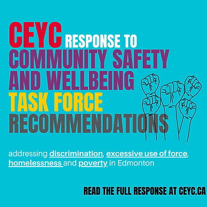 CEYC RESPONSE to Community Safety and We