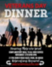 Copy of Veterans Day Free Dinner Flyer -