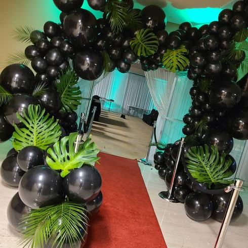 Carribean Balloon Arch