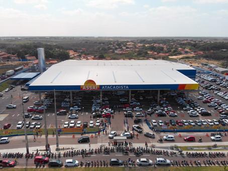 Com investimento de R$ 40 milhões, Assaí inaugura mais uma loja, em Parnaíba - PI