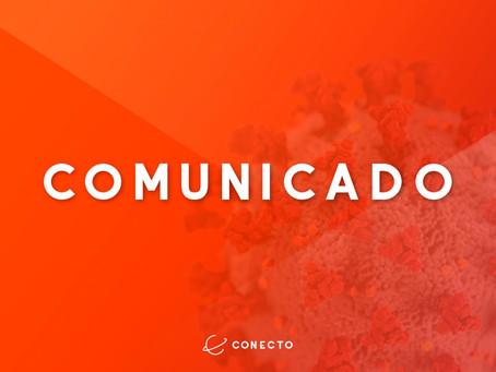 COMUNICADO CONECTO: COVID-19