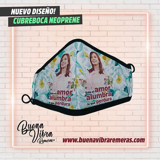 CUBREBOCA EL AMOR ALUMBRA