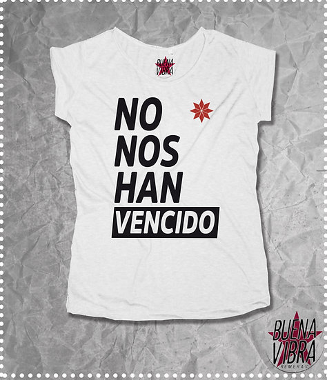 NO NOS HAN VENCIDO