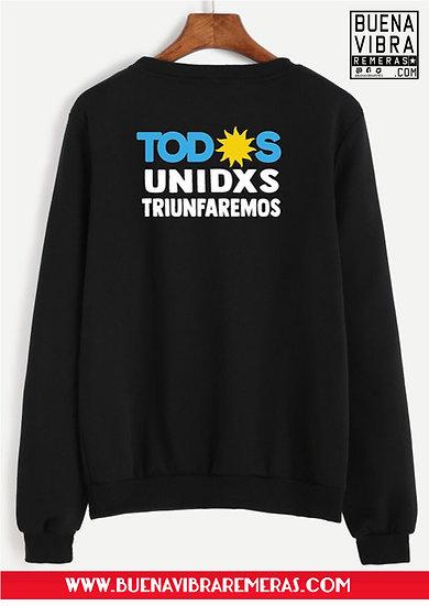 Buzo Todxs Unidxs Triunfaremos