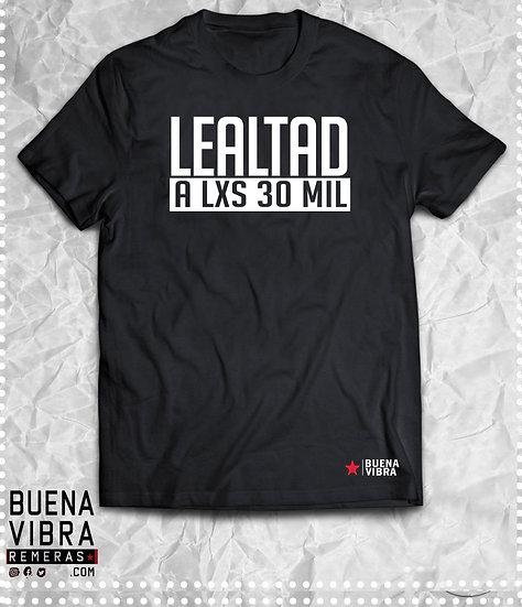 LEALTAD A LXS 30MIL