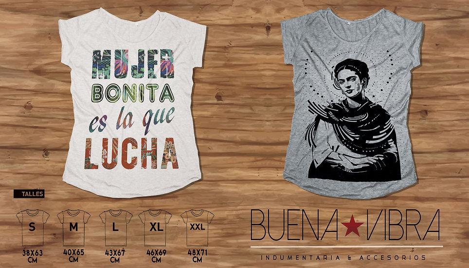 MUJER BONITA & FRIDA B/N