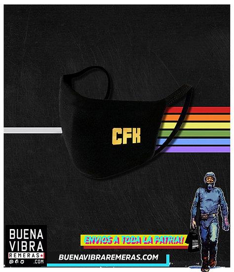 CUBRE BOCA CFK DORADO