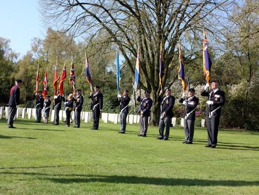 On the itinerary: Holten Canadian War Cemetery [Netherlands Tour 2015]