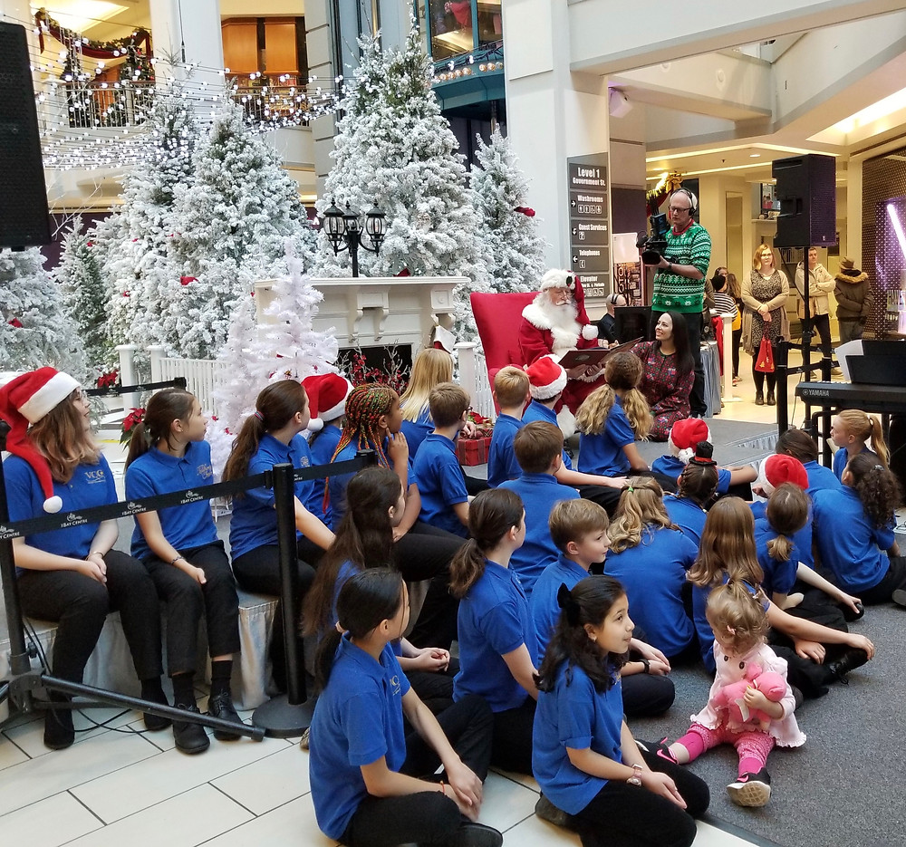 Story Time with Santa for BC Children's Hospital Foundation