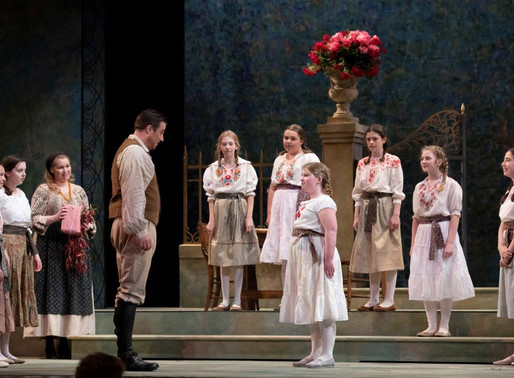 VCC choristers perform with Pacific Opera Victoria