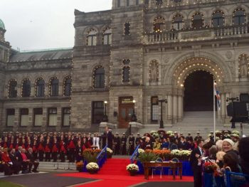 A Royal Welcome for William and Kate (with video)
