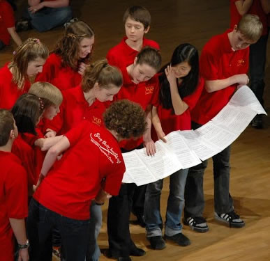 Victoria Children's Choir.