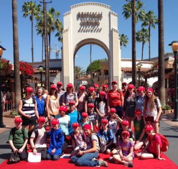 And they sang their hearts out… happier ever after. Concert Choir Tour to Disneyland – R