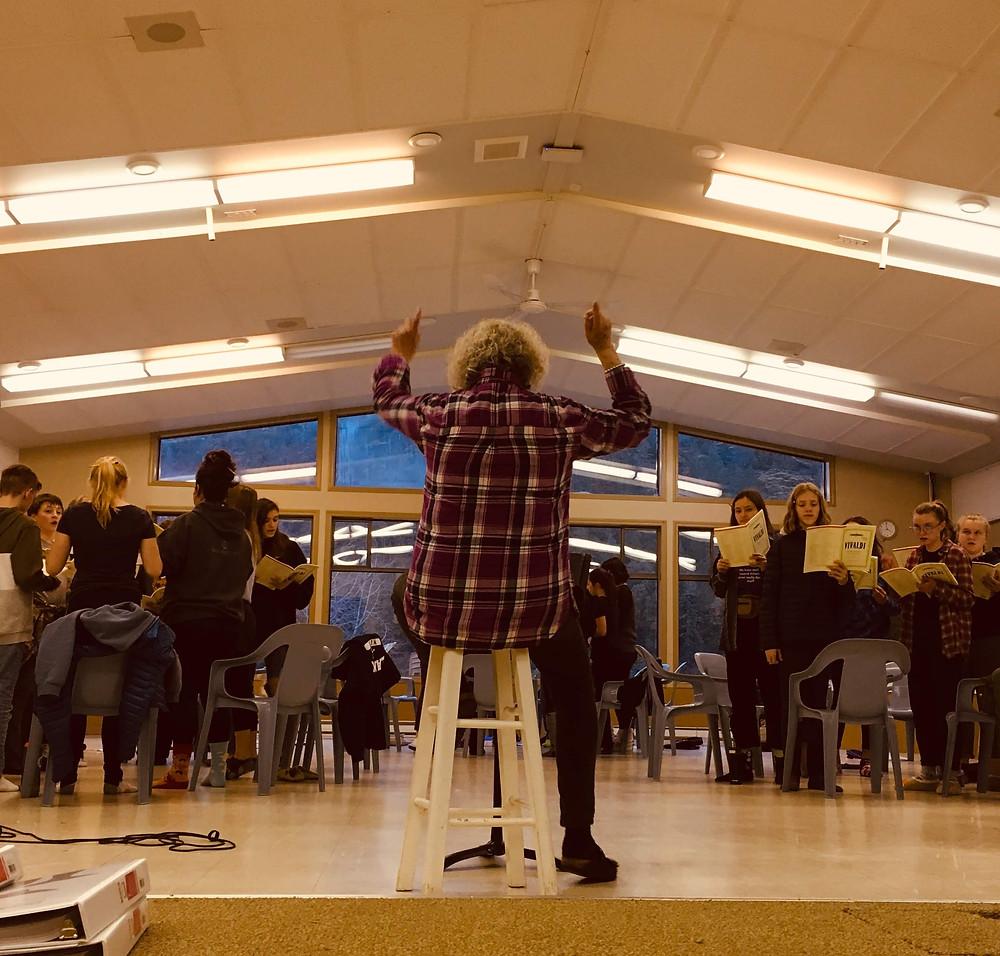 Concert Choir Retreat