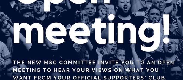 MSC Open Meeting